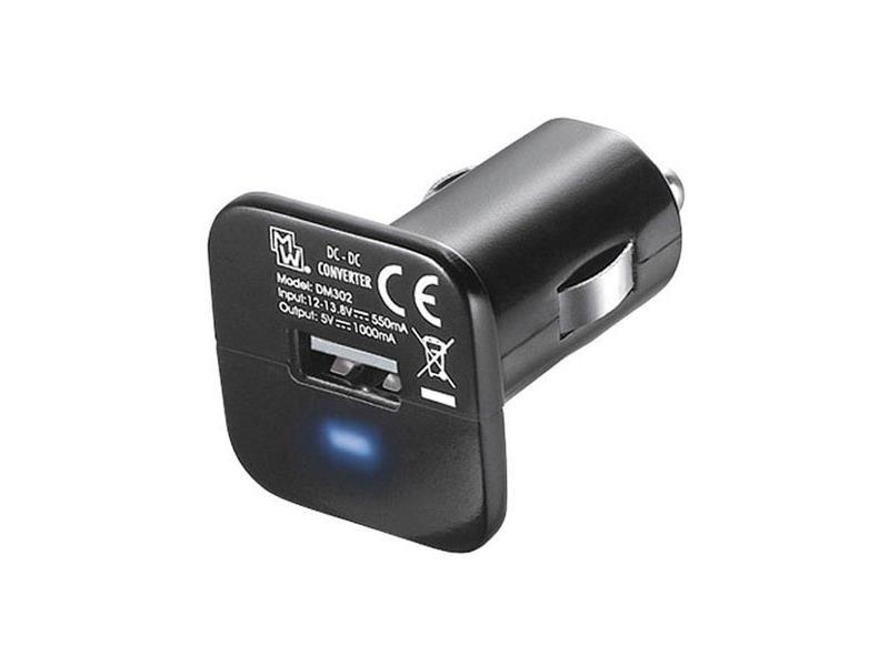 Adaptér USB 12V/5V autoadaptér micro