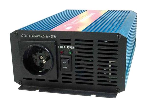 Měnič napětí 24V/230V 600W CZ sinusovka CARSPA
