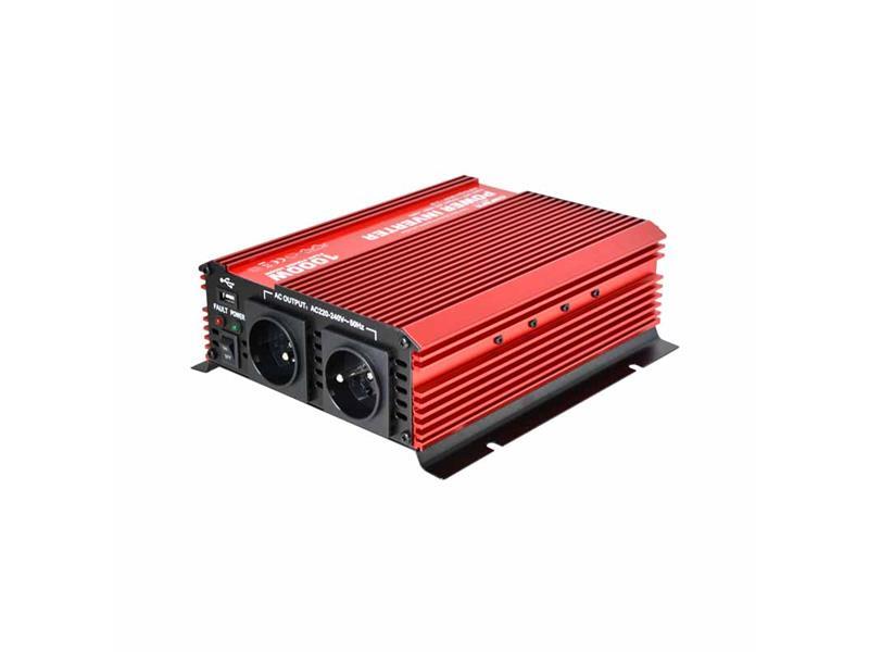 Měnič napětí 24V/230V 1000W CZ CARSPA