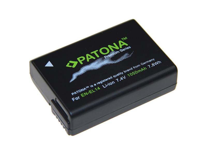 Baterie NIKON EN-EL14 1050mAh premium PATONA PT1197