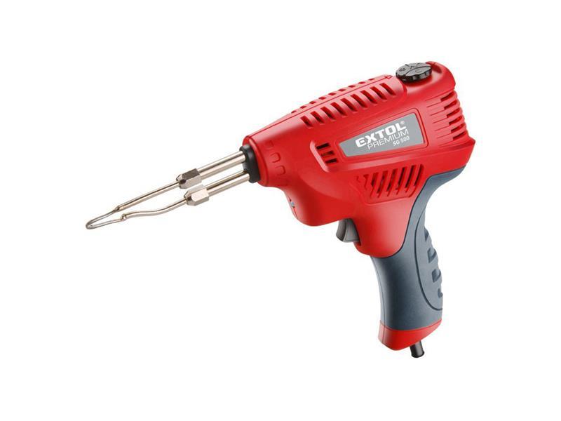 Pistole pájecí s regulací teploty, transformátorová, 200W, EXTOL PREMIUM 8894510
