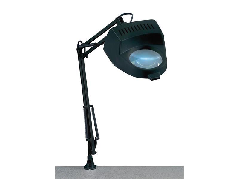 Lupa stolní kulatá ( svorka ) 4diop. žárovka 60W/ E27