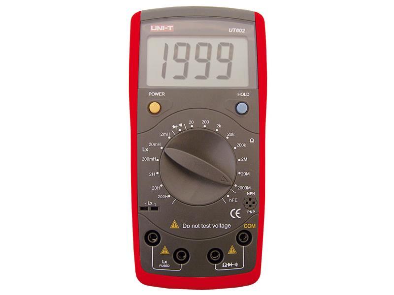 Multimetr UNI-T UT602 (RL)