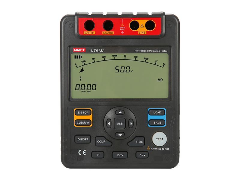 Tester izolace UNI-T UT513A 5kV, USB