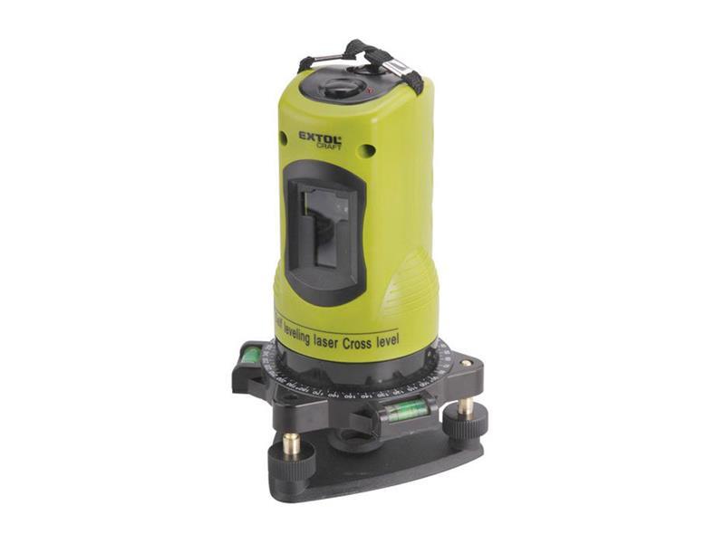 Laser liniový, křížový samonivelační EXTOL CRAFT