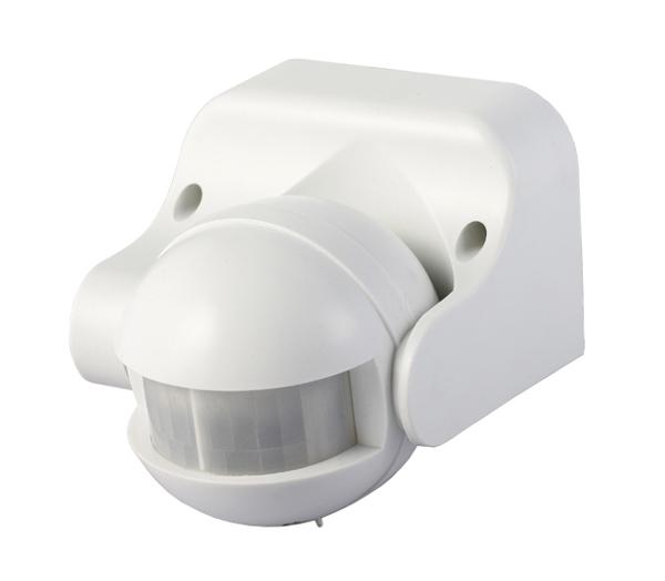 PIR senzor (pohybové čidlo) ST09 - bílá (LX39)