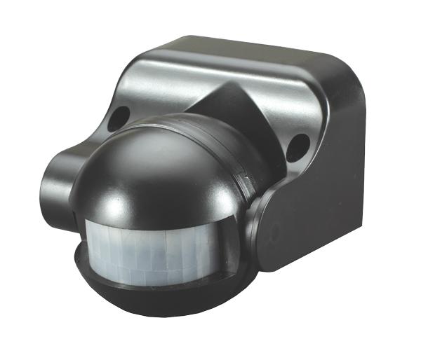 PIR senzor (pohybové čidlo) ST09 - černá (LX39)