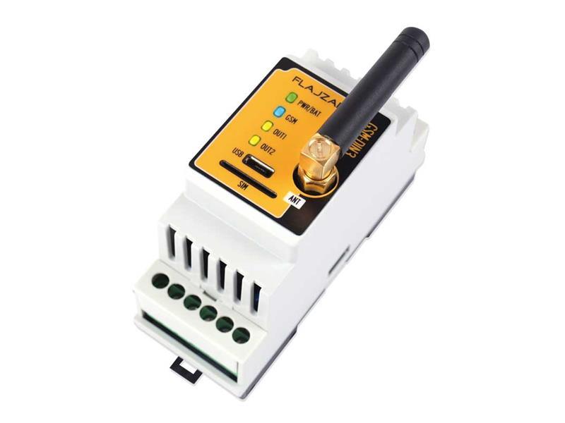 Dálkové ovládání GSM na DIN lištu - GSM-DIN3
