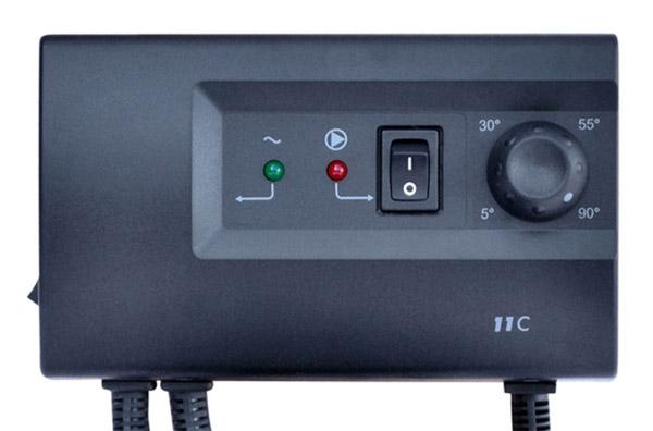 Termostat příložný TC11C SALUS elektronický