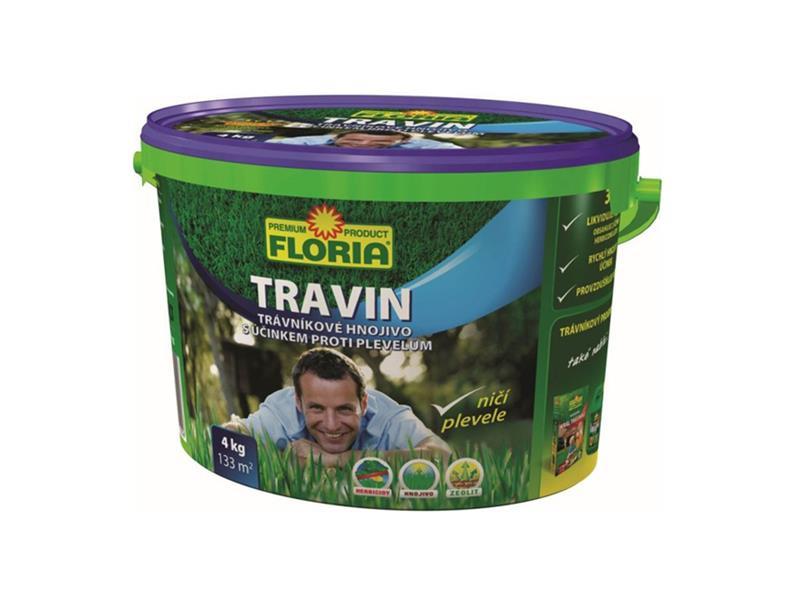 Hnojivo trávníkové AGRO TRAVIN 4kg