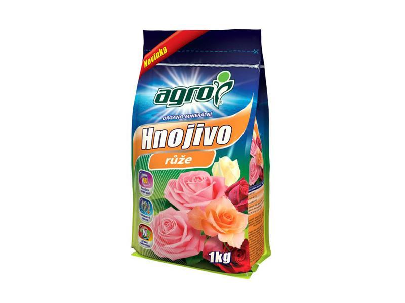 Hnojivo organominerální AGRO pro růže 1 kg