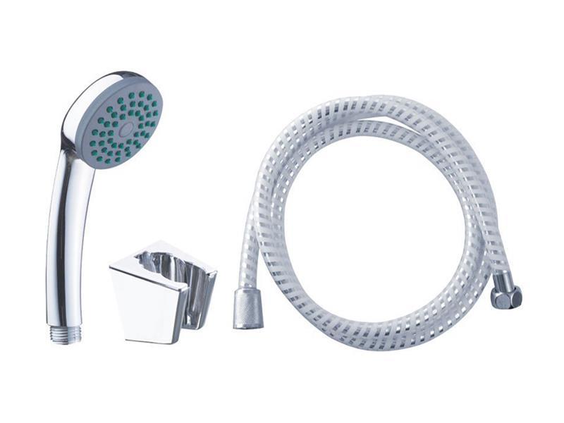 Sada sprchová malá, 1funkční hlavice, držák na sprchu, hadice 150cm, VIKING