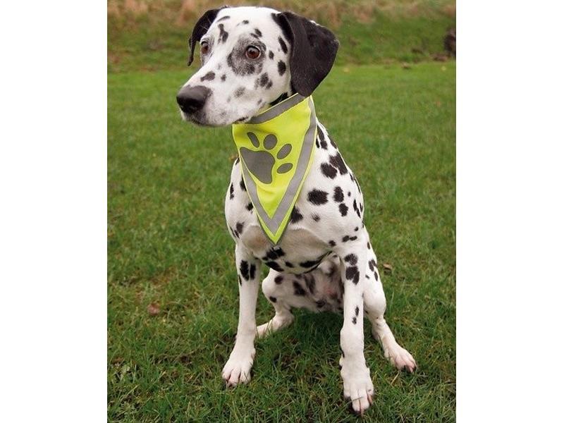 Šátek pro psy TRIXIE reflexní L/XL (43-60 cm)