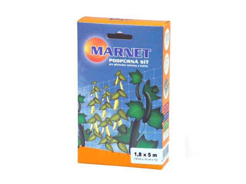Síť opěrná pro rostliny MARNET 1.8 x 5 m