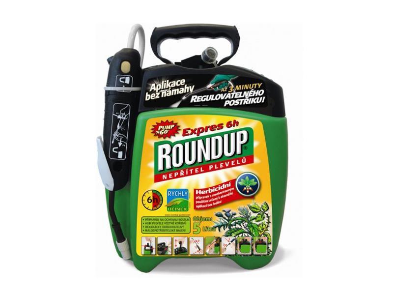 Herbicid ROUNDUP EXPRES 6h 5L rozprašovač