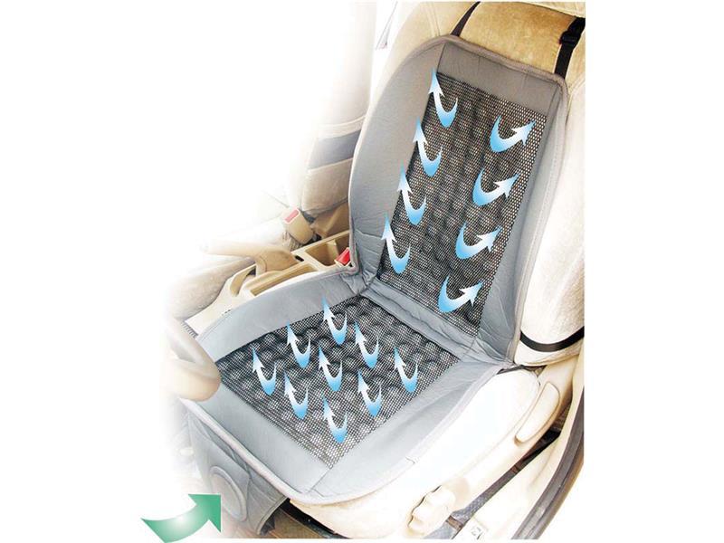 Potah autosedačky s ventilátorem