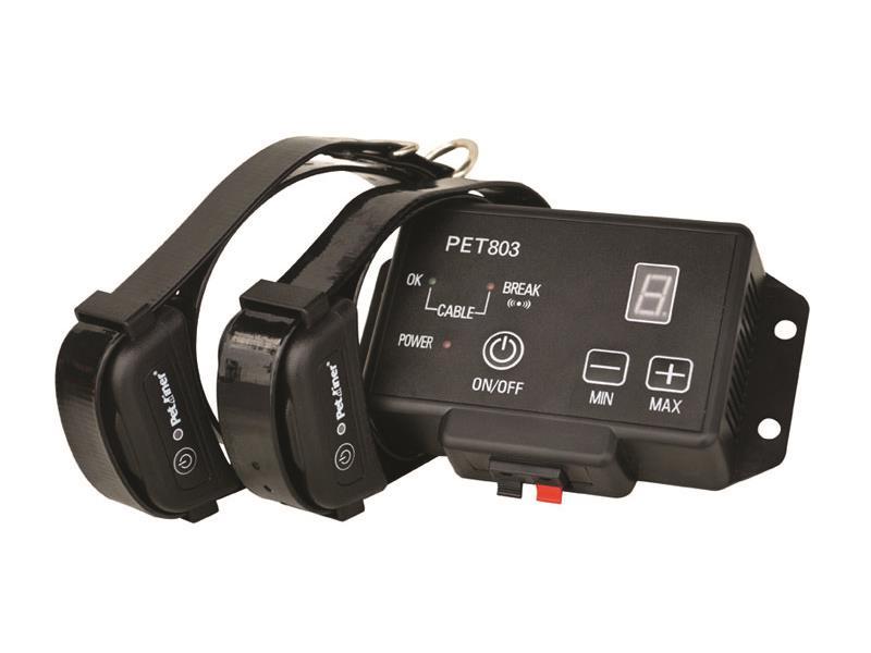 Ohradník pro psa elektronický PETRAINER PET803-2 (dva obojky)