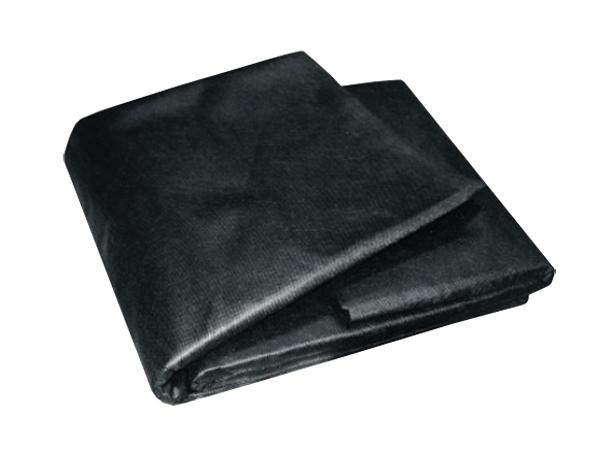 Textilie netkaná černá 3,2mx5m
