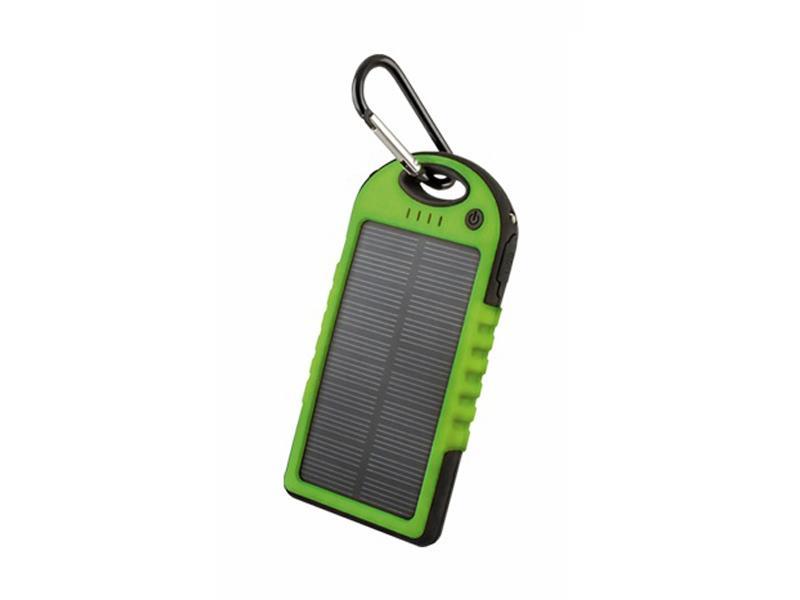 PowerBank 5000 mAh solární FOREVER PB-016 zelená