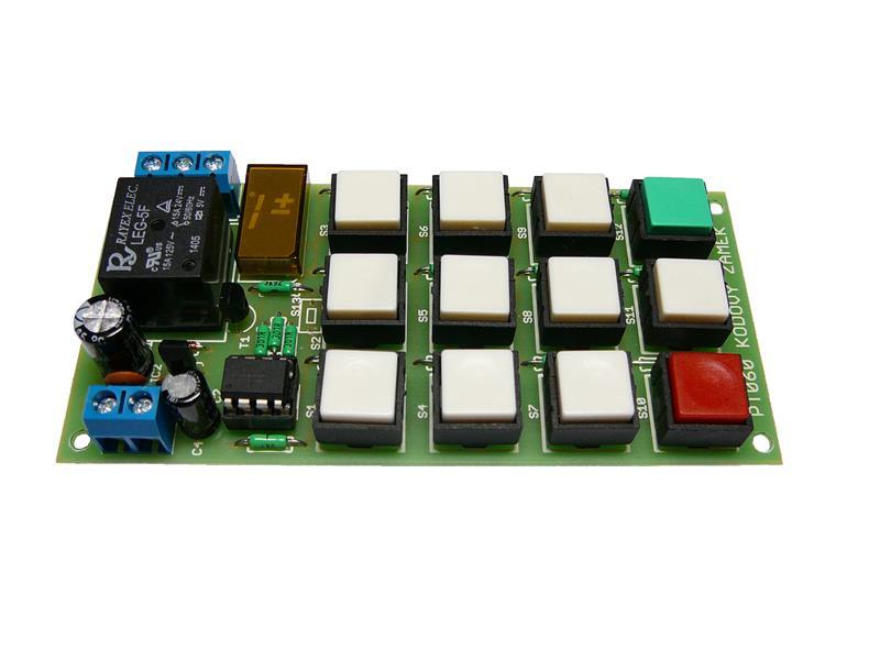 Stavebnice TIPA PT060 Kódový zámek