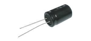 Kondenzátor elektrolytický 10M/400V 18x36-5 105° rad.C