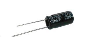 Kondenzátor elektrolytický 10M/400V 10x20-5 105*C rad. C