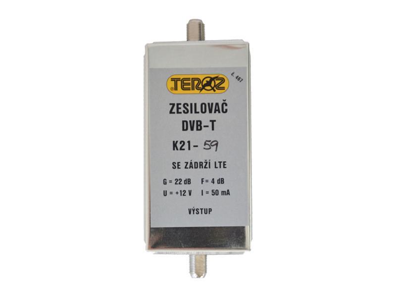 Anténní zesilovač s filtremLTE+GSM F-F Teroz 467X