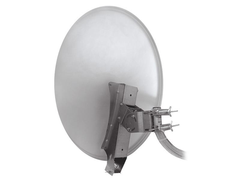 Satelitní parabola 85AL Emme Esse profi se systémem Clarkalign bílá