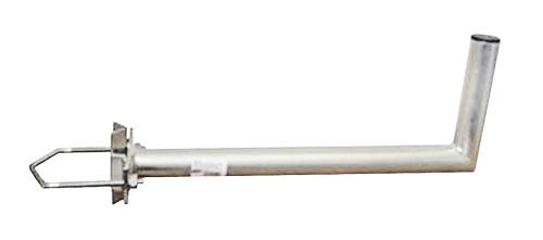 Anténní držák 50 na stožár s vinklem průměr 42mm výška 16cm žár.