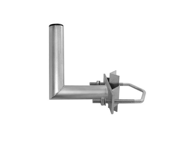 Anténní držák 15 na stožár s vinklem průměr 35mm výška 17cm žár.