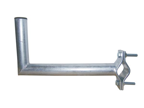 Anténní držák 35 na balkon s vlnkou průměr 42mm výška 16cm žár.