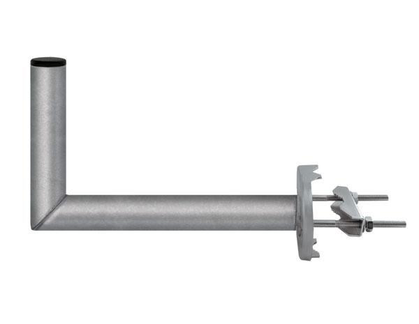Anténní držák 35 na stožár s třmenem průměr 42mm výška 16cm žár.