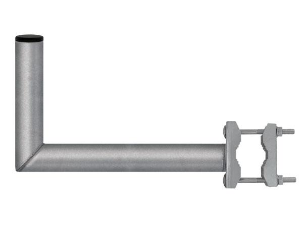 Anténní držák 35 na balkon s třmenem průměr 42mm výška 16cm žár.