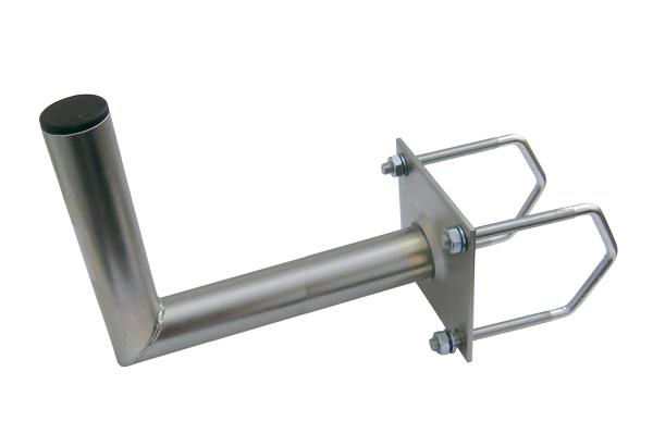 Anténní držák 50 na balkon na hranaté zábradlí průměr 42mm výška 16cm