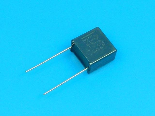 Odrušovací kondenzátor 100nF / 275V (0.1uF, 100K)