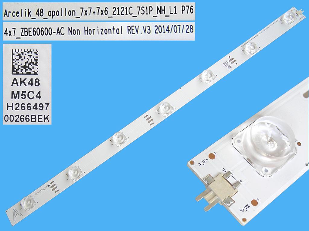 LED podsvit 510mm, 7LED / DLED Backlight 510mm - 7 D-LED, Grundig 759551877900, ZBE60600-AC