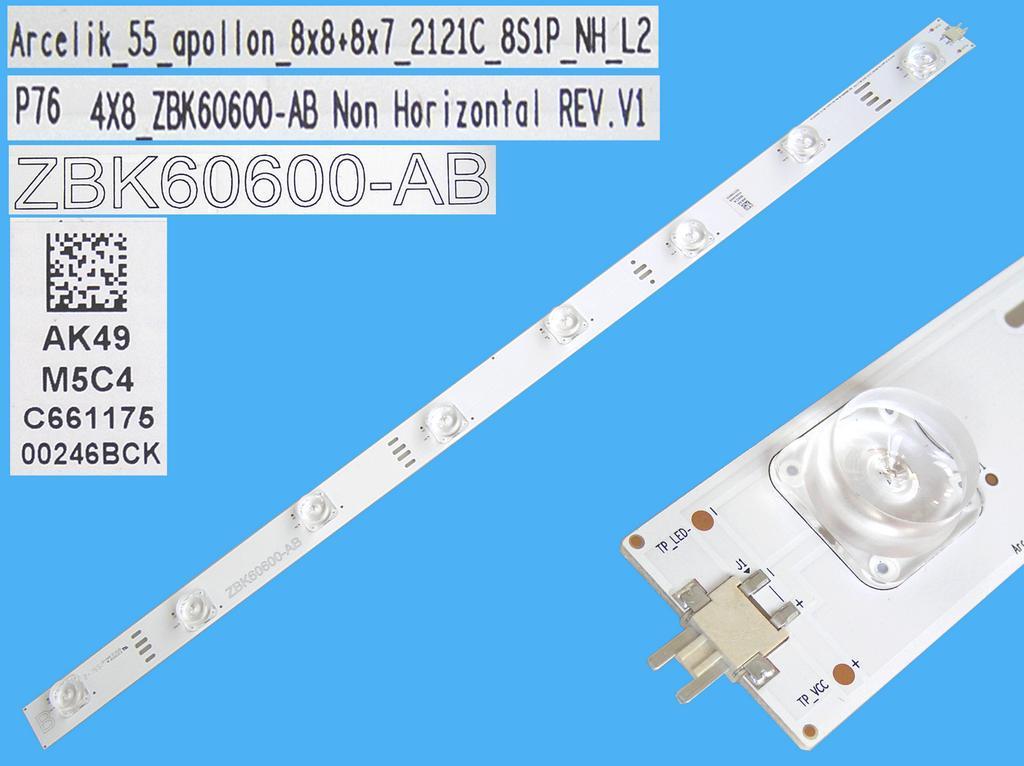 LED podsvit 583mm, 8LED / DLED Backlight 583mm - 8 D-LED, Grundig 759551877600, ZBK60600-AB