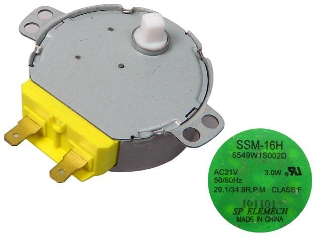 Motorek pro otáčení talíře do mikrovlnné trouby 230V gm-16-24FG18 6549W2S002J / 6549W2S002D