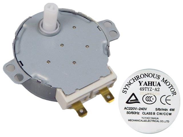 Motorek pro otáčení talíře do mikrovlnné trouby TYJ50-8A7F Whirlpool 481236158449
