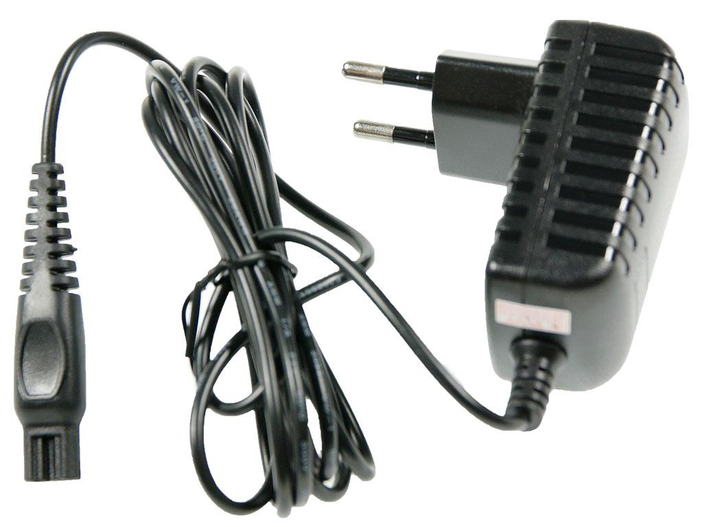 Napájecí adaptér včetně kabelu pro holící strojek / zastřihávač Philips 15V / 0,36A