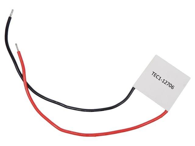 Peltierův termoelektrický článek 50W TEC1-12706 / chladící článek 12V/50W TEC1-12706 / TE6