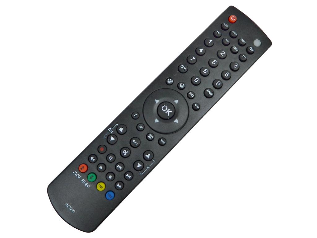 RC1910 Dálkový ovladač Vestel LCD TV + DVD / 30070046