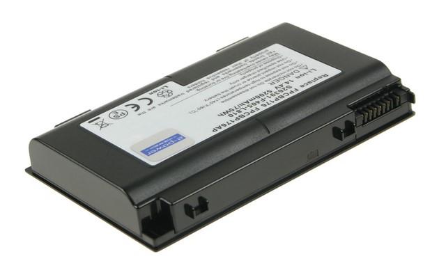 2-Power baterie pro FUJITSU SIEMENS LifeBook E8410, N7010, NH570, E8420, E780, A6230, A6220 14,4 V, 5200mAh, 8 cells