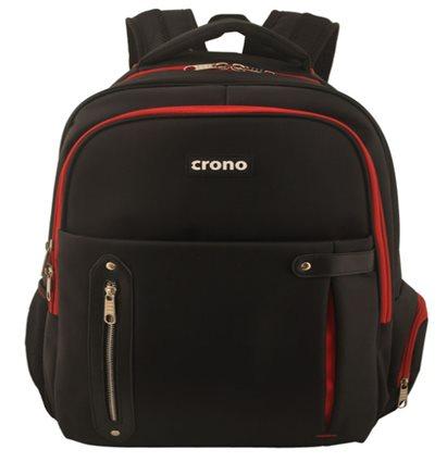 """!! AKCE !! Crono Dakota - batoh na notebook 15.6"""", černý + červený"""
