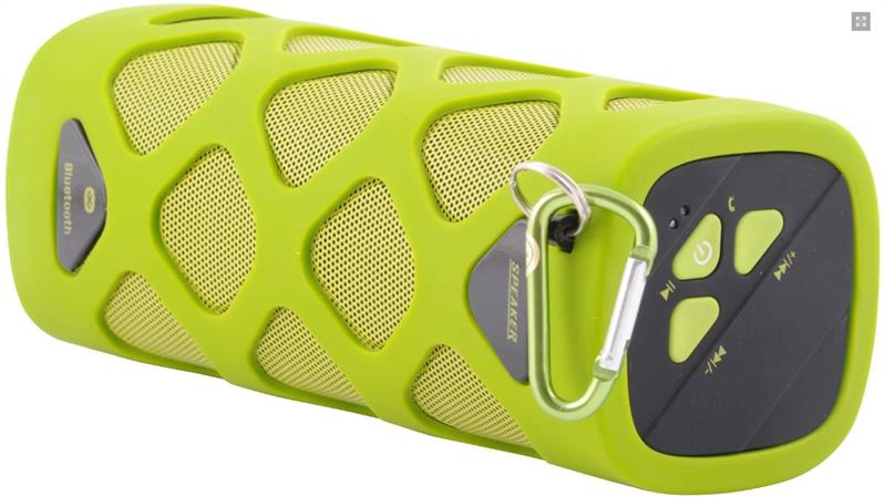 Crono BlueTooth reproduktor, zelená - 2x 5 W, NFC, IPX4, zelený