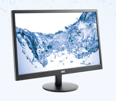 "AOC LCD E2470SWH 23,6""wide/1920x1080/1ms/20mil:1/VGA/HDMI/DVI/LED/repro"
