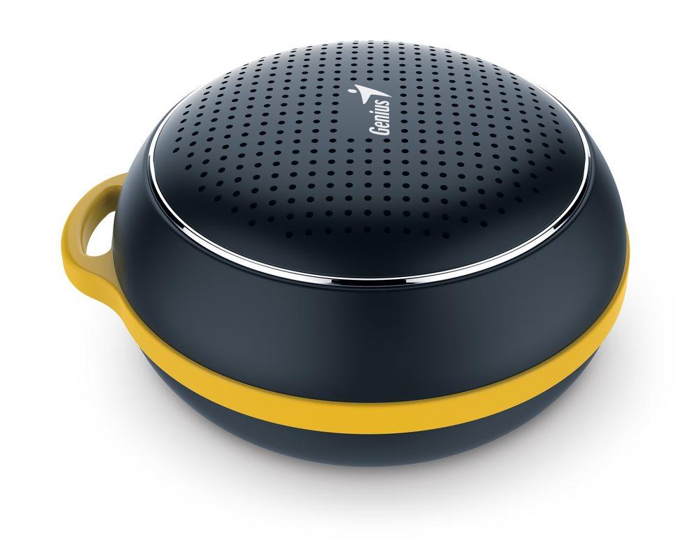 GENIUS repro SP-906BT/ 3W/ Bluetooth 4.1/ dobíjecí/ černý