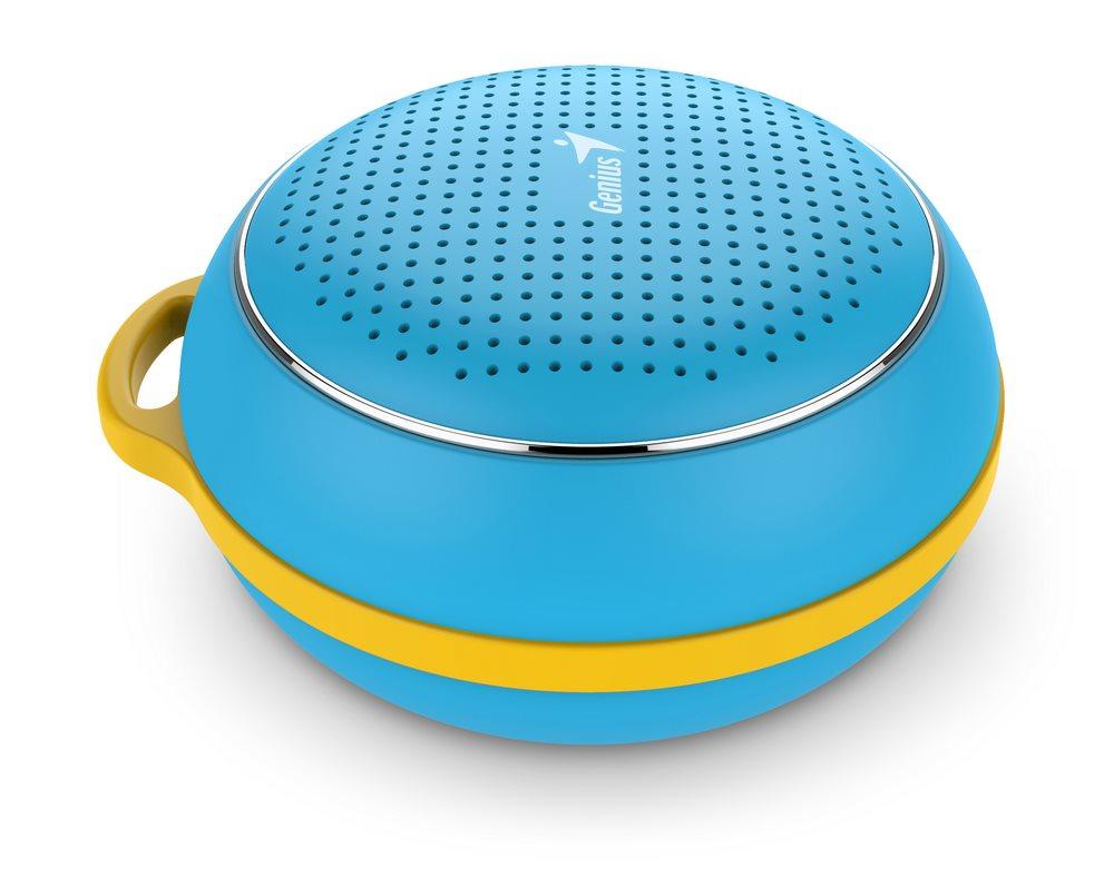 GENIUS repro SP-906BT/ 3W/ Bluetooth 4.1/ dobíjecí/ modrý