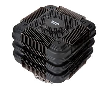 Zalman chladič CPU FX100, univ. socket -10x heatpipe, passive - AM2/AM3,AM3+,FM1,FM2,775,1150,1155,1156,1366,2011