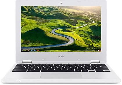 "Acer Chromebook 11 (CB3-131-C4SZ) Celeron N2840/2GB/eMMC 32GB+N/HD Graphics/11.6"" HD ComfyView LCD/Google Chrome/White"